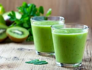 Hair Growth Smoothie with Biotin and Collagen